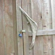 Driftwood Door Handle
