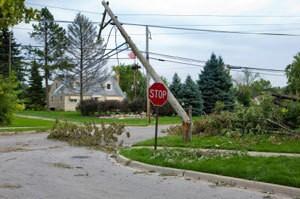 Devastation caused by Hurricane Ike in 2008
