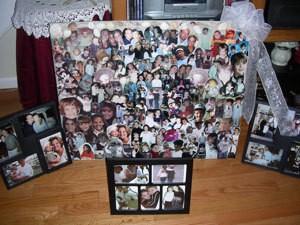 Wedding Shower Collage
