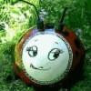 Ladybug Bowling Ball