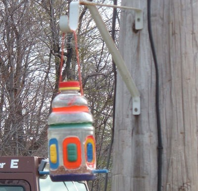 Juice Bottle Bird House