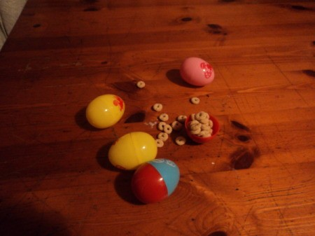 Reusing Plastic Easter Eggs