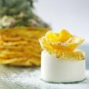 Dessert Pineapple Panna Cotta