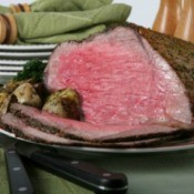 Roast Beef on Table