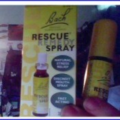 package of Rescue Remedy spray