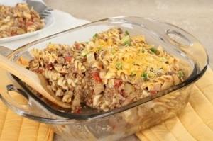 Hamburger and Macaroni Casserole