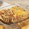 Hamburger and Macaroni Casserole