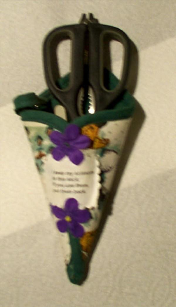 Making A Pot Holder Scissors Pouch Thriftyfun