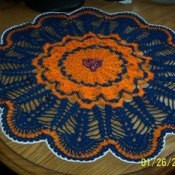 Chicago Bears Doily