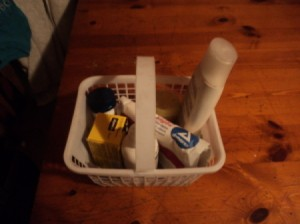 First Aid Basket