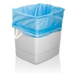 Garbage Bag in Trash Can