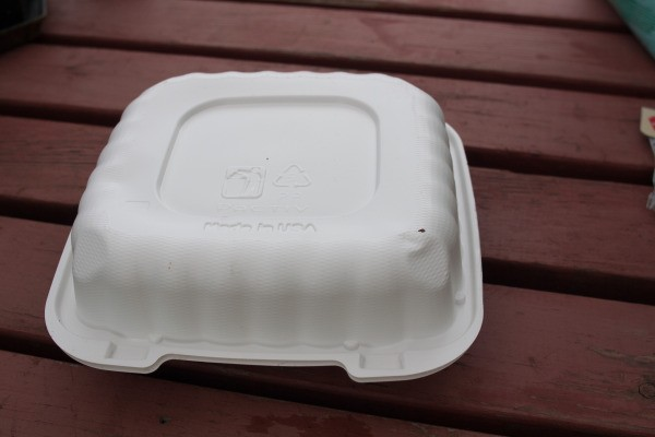 Clamshell To-Go Container