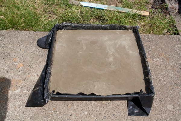 Setting Concrete