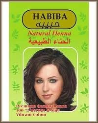 Package of henna.