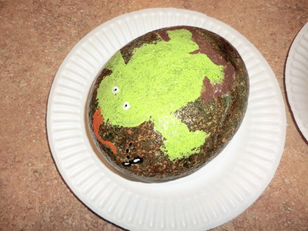 Frog Painted Rock