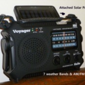 Solar Hand-cranked Radio