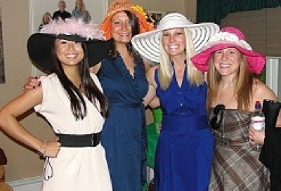 article kentucky derby themed wedding shower