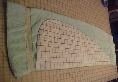 cutting out cloth