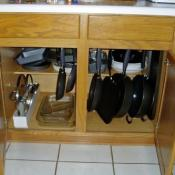 Organizing Pots and Pans
