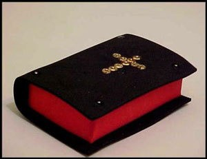 Miniature Soap Bible