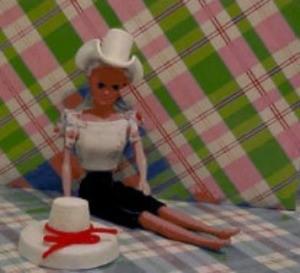 Homemade Barbie Hats From Styrofoam