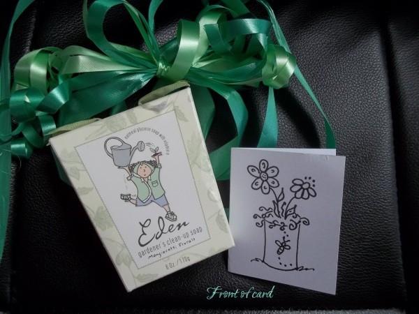 Gift bag and card.