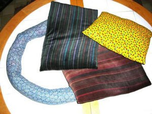 Pillows Made from Old Clothes