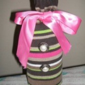 Recycled Sweater Gift Bag