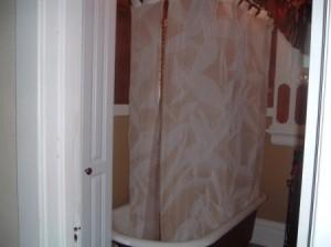 Painted Bathtub