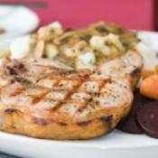 Pork Chop and Potato