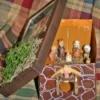 Nativity in a shoe box.