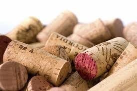 Pile of corks.