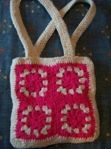 Finished Granny Purse