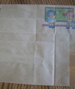 Recycled Paper Bag Stationary Thriftyfun