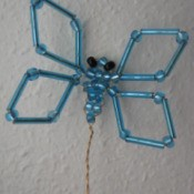 Bead and Wire Butterfly