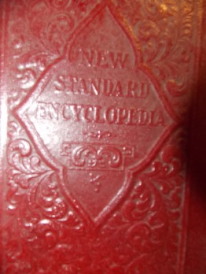 Closeup of cover.