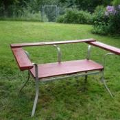 Recycled Garden Bench