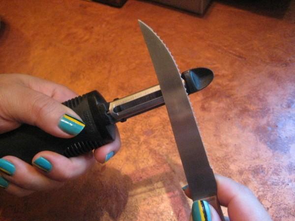 Sharpen Your Vegetable Peeler