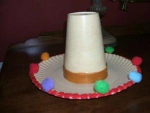 A sombrero craft for Cinco de Mayo