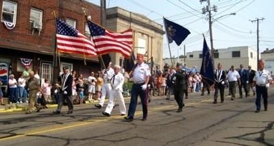 Veterans in Memorial Day Parade