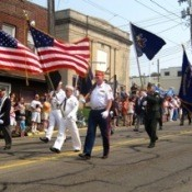 Veterans in Memorial Day Parade