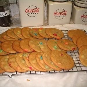 M & M cookies.