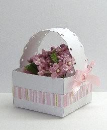 Paper Craft Gift Set - Basket.