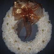 Tulle wreath.