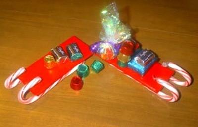 Candy Cane Sleigh