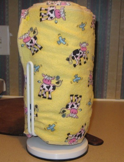 Make Reusable Absorbent Towels