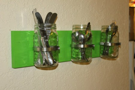 Canning Jar Utensil Holder