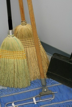 Keep a Broom from Sliding (and Falling Down)