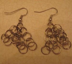 Craft: Jump Ring Earrings