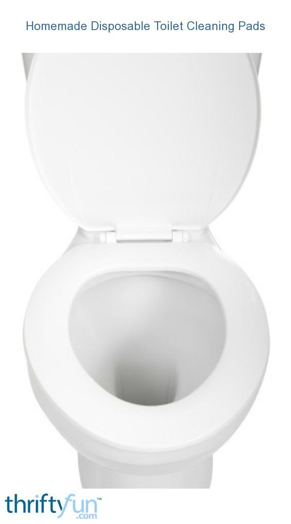 Homemade Disposable Toilet Cleaning Pads Thriftyfun